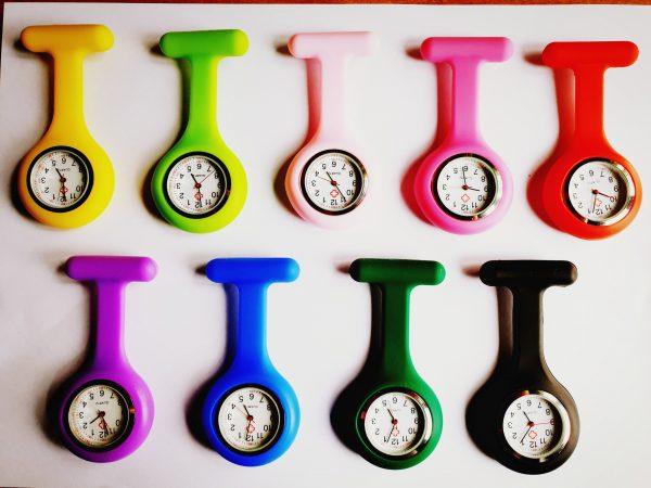Verpleegkundige horloges siliconen, diverse kleuren kopen